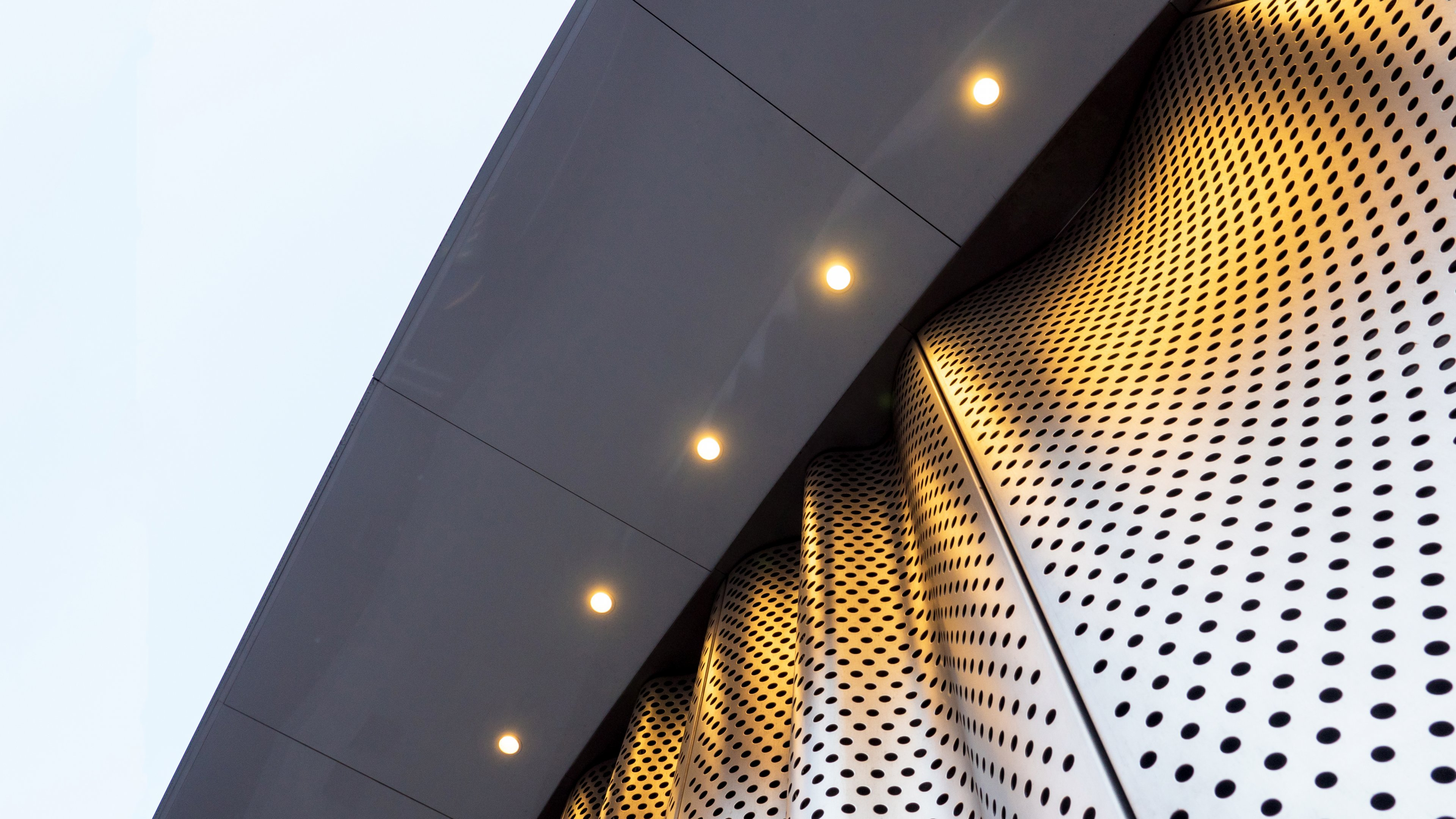 POHL perforated sheet metal facade