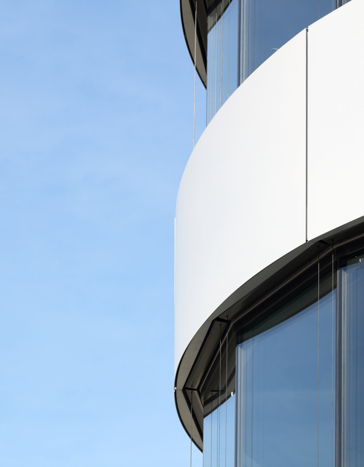 """I Live Tower""; powder coated surface by POHL Facades"