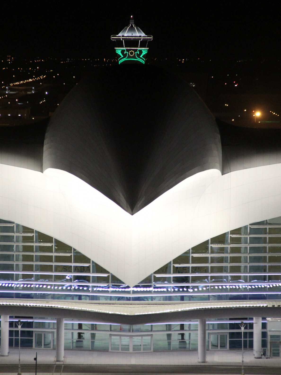 "Project image ""Ashgabat Airport""; intelligent aluminum facade systems"