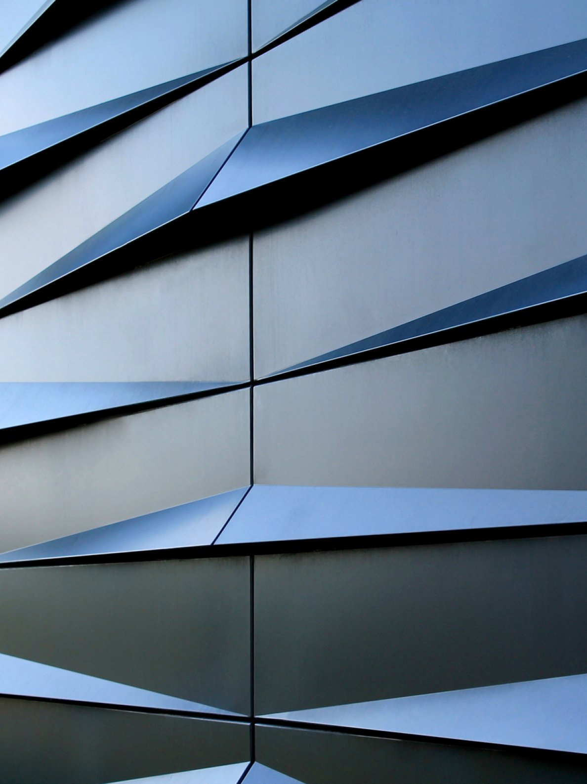 """E.ON Energy Research Center""; metallic facade finishes"